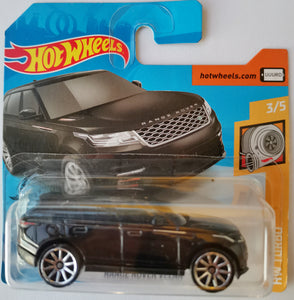 Hot Wheels Range Rover Velar (black)