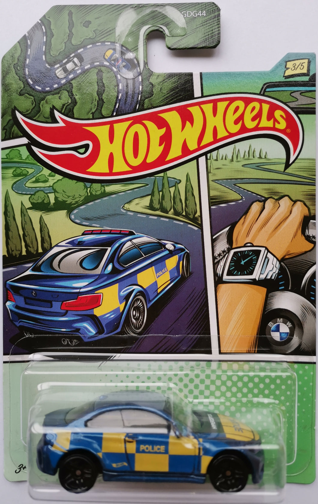 Hot Wheels Police BMW M2