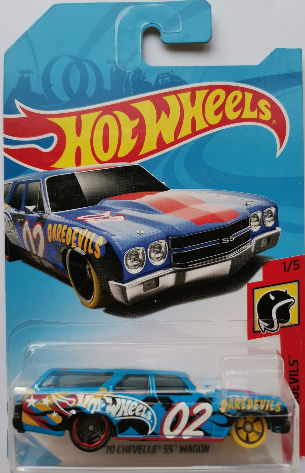 Hot Wheels '70 Chevelle SS Wagon