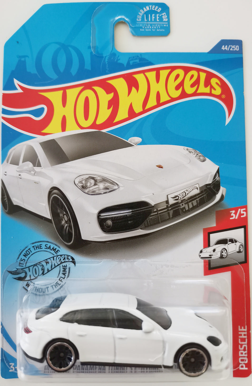 Hot Wheels Porsche Panamera Turbo S E-Hybrid Sport Turismo (Long Card)