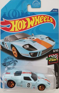 Hot Wheels Ford GT-40 (Long Card)