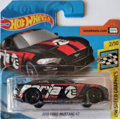 Hot Wheels 2018 Ford Mustang GT (black)