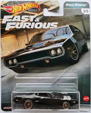 Hot Wheels Fast & Furious Full Force '71 Plymouth GTX