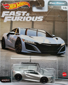 Hot Wheels Fast & Furious Full Force '17 Acura NSX