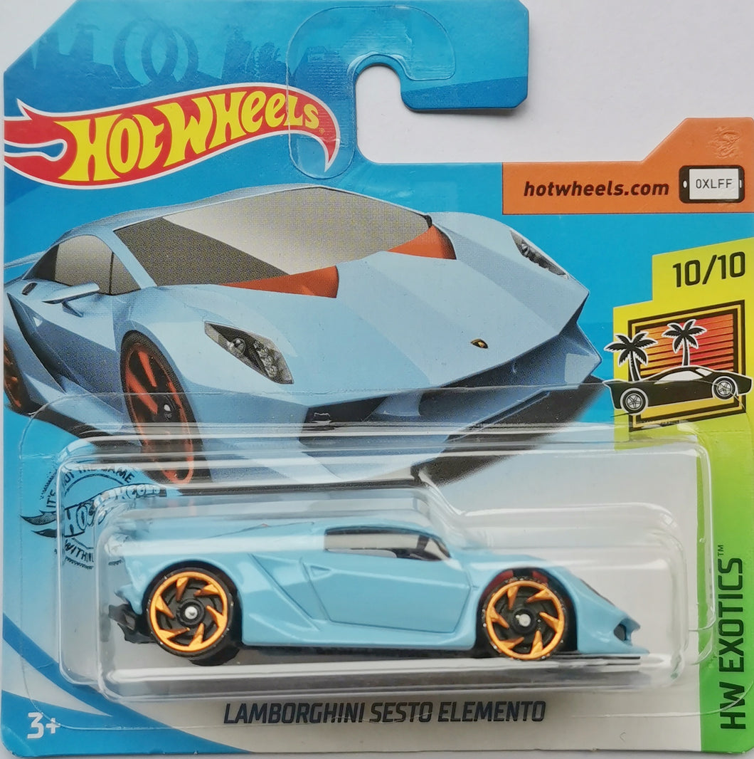 Hot Wheels Lamborghini Sesto Elemento