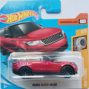 Hot Wheels Range Rover Velar (Red)