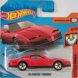 Hot Wheels '84 Pontiac Firebird