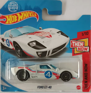 "Hot Wheels Ford GT-40 ""Gumball 3000"""