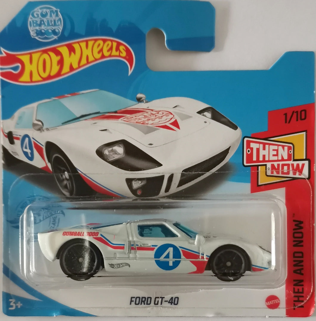 Hot Wheels Ford GT-40