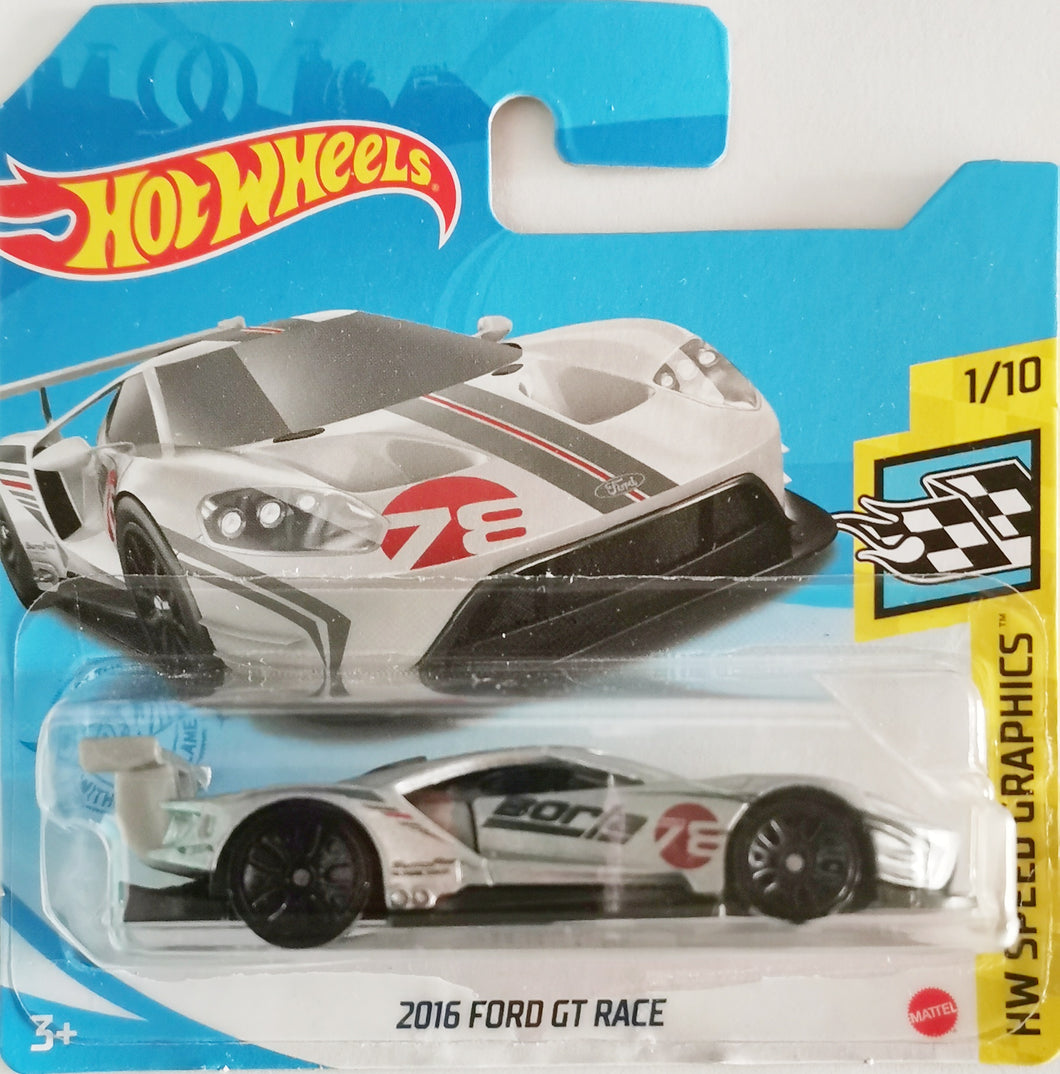 Hot Wheels 2016 Ford GT Race