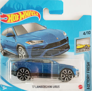 Hot Wheels '17 Lamborghini Urus (blue)