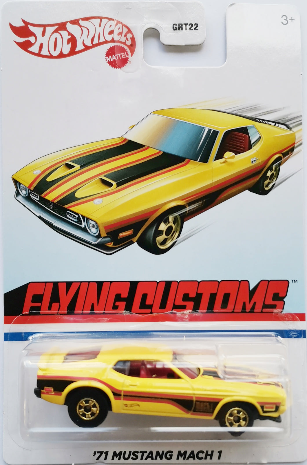 Hot Wheels Flying Customs '71 Mustang Mach 1
