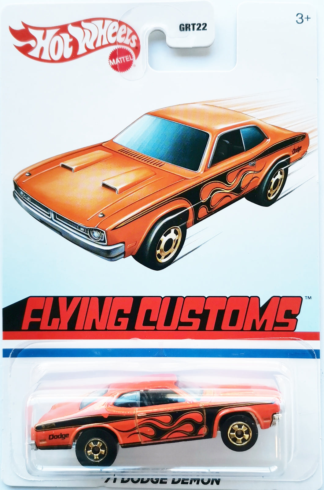 Hot Wheels Flying Customs '71 Dodge Demon
