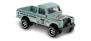 Hot Wheels Land Rover Series III Pick-Up (Green)