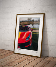 Ferrari 488 Pista Close-Up Print (A2 & A3)