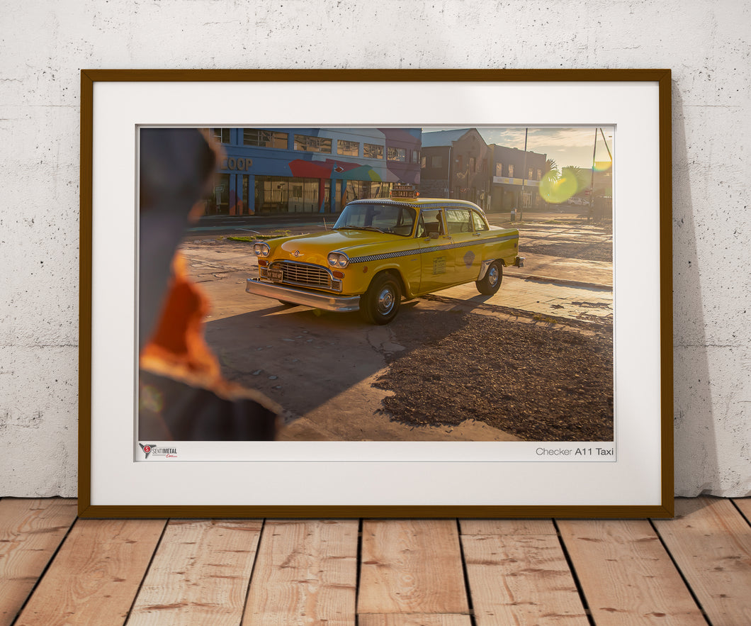 Checker A11 New York Taxi Print (A2 & A3)