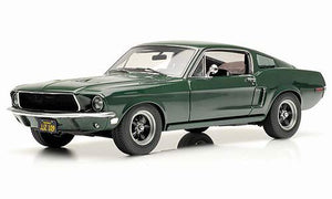 "Ford Mustang GT ""Bullitt"" movie car (Greenlight Collectibles 1:18)"
