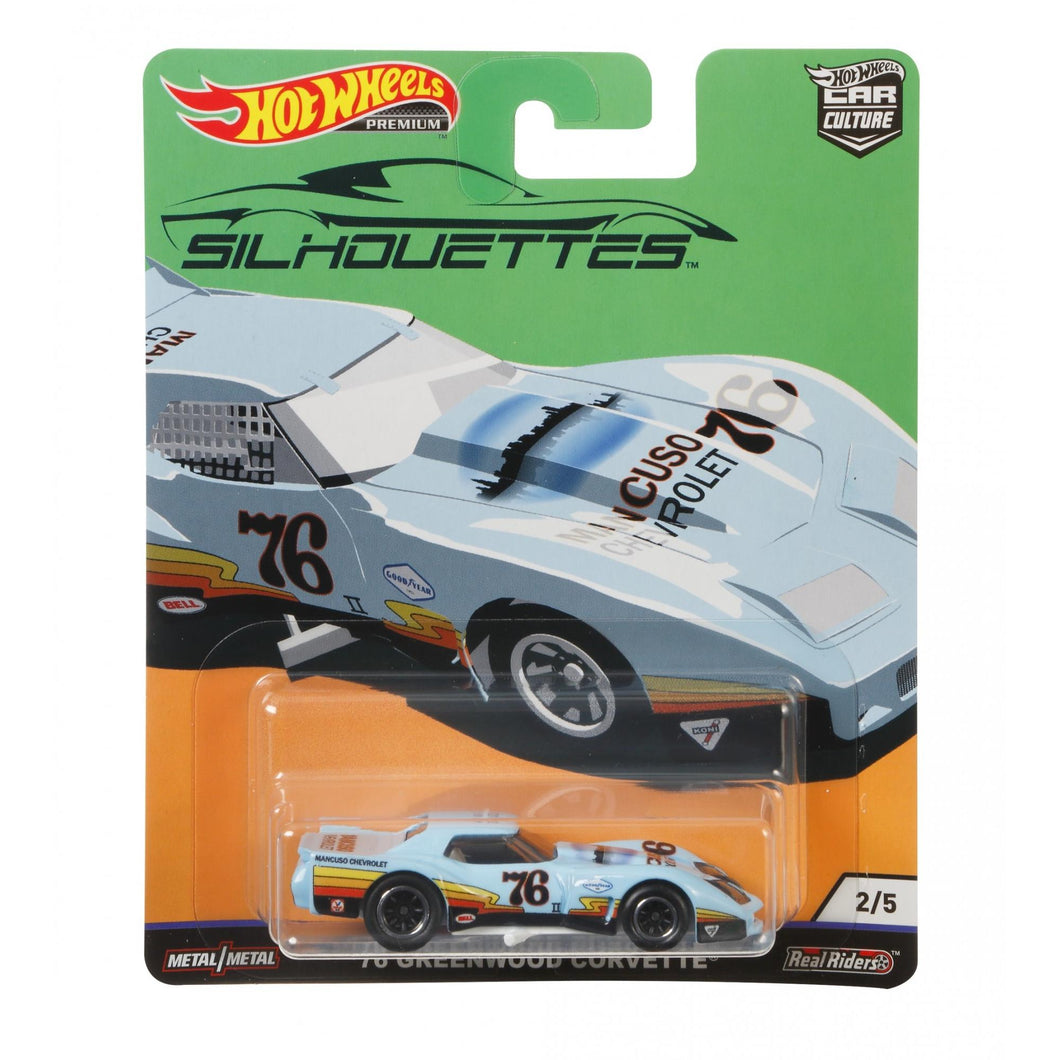 Hot Wheels Silhouettes Greenwood Corvette