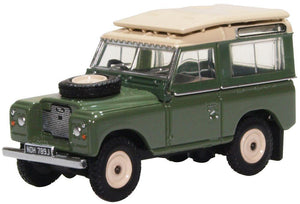 Land Rover Series IIA SWB Station Wagon (Oxford Commercials 1:43)