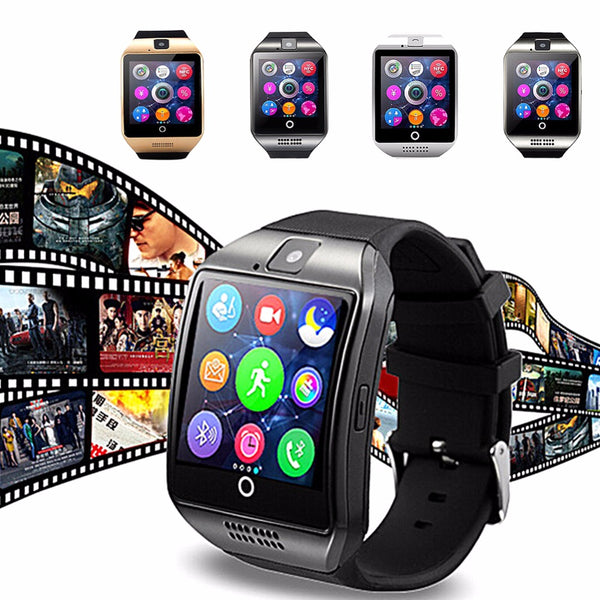 Powerful  Smart Watch -  Wearable Equipment Android Bluetooth Connection Clock Music Watch - Support SIM Card Phone