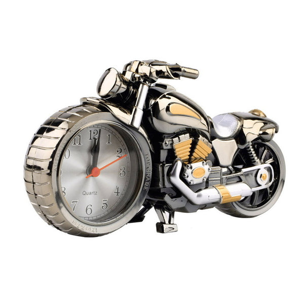 Motorcycle Clock  Alarm Desk Clocks  Festival Decor Gift
