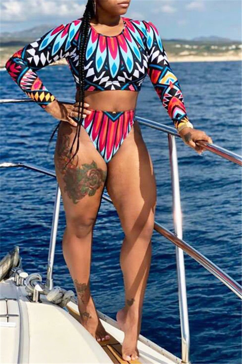 Digital Printed Swimwear Sets - outyfit