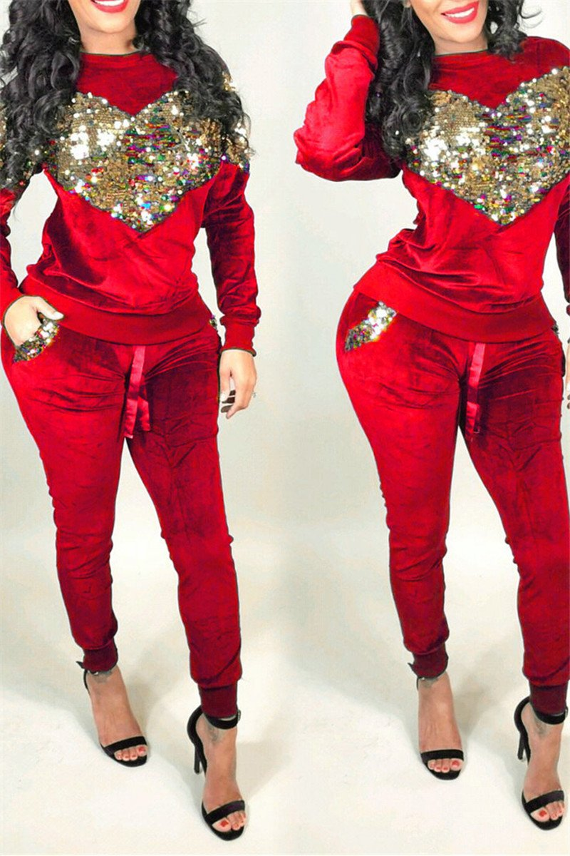 Sequin Splicing Two PC Sets