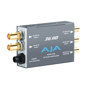 AJA-3GM  3G/1.5G HD/SD SDI Bidirectional Multiplexer SD/HD Audio/Video