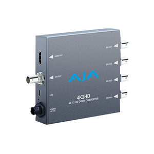 AJA-4K2HD  4K to HD down-conversion Mini-Converter