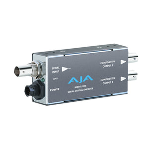 AJA-D4E Distribution Amplifier SDI to NTSC/PAL (2 outputs) or Y/C
