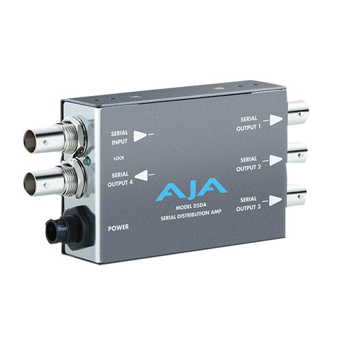 AJA-D5DA SDI Distribution Amplifier 1x4 EQ Multi-Standard