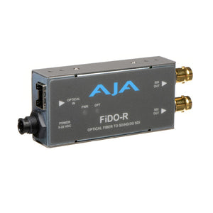 AJA Single Channel LC Fiber to SDI converter (Multi-Mode SFP)