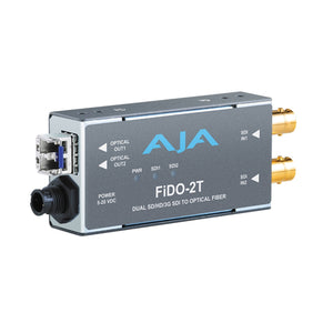 AJA-FiDO-T-SC Single Channel 3G-SDI to Optical Fiber (SC connector) with looping output