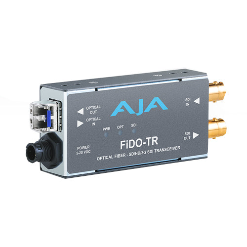 AJA Fido TR MM 1-Channel 3G-SDI/LC Multi-Mode LC Fiber Transceiver