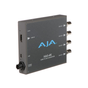 AJA-HA5-4K   4K HDMI to 4K 4 x 3G-SDI also supports HD-HDMI to HD SDI