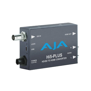 AJA-Hi5-Plus3G-SDI to HDMI with PsF to P support includes 1 meter HDMI cable