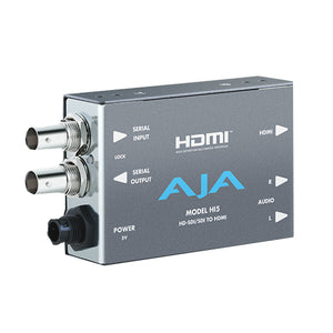 AJA-Hi5  HD/SD SDI to HDMI includes 1 meter HDMI cable