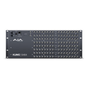 AJA-KUMO 6464 Compact SDI Router with 1 power supply