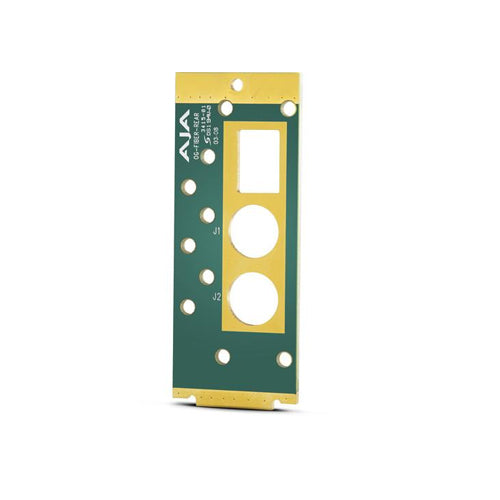 AJA-OG-FIBER-REAR  Rear mounting board for Fiber modules (replacement needs only)