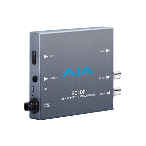 AJA-ROI-DP DisplayPort to SDI with Region of Interest scaling and DP loop through