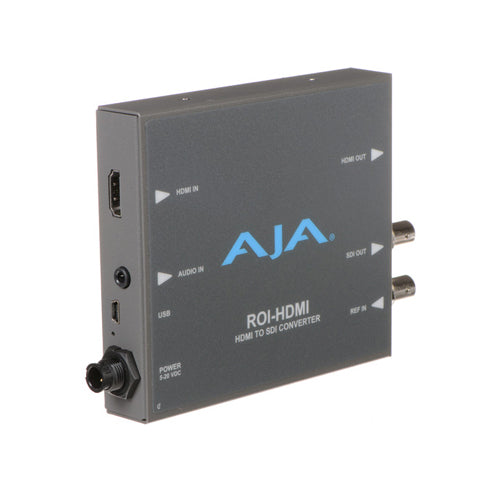 AJA-ROI-HDMI - HDMI to SDI with Region of Interest scaling and HDMI loop through