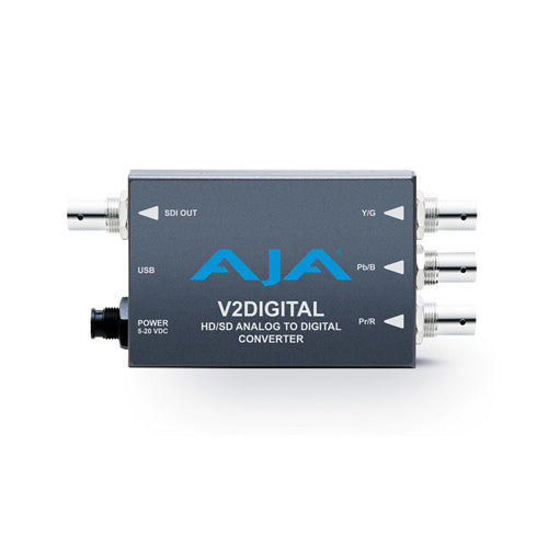 AJA-V2Digital  Analog video to digital HD/SD-SDI Mini-Converter