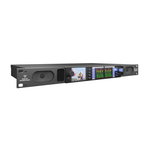 Wohler AMP1-16V-MD Audio with Video Monitor
