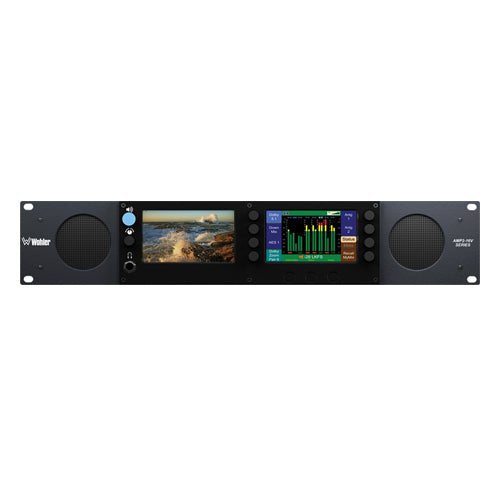 Wohler AMP2-E16V-M Audio with Video Monitor