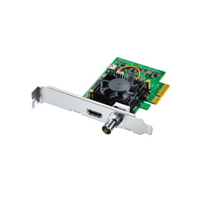 Blackmagic DeckLink Mini Monitor 4K (requires 4 lane PCIe)