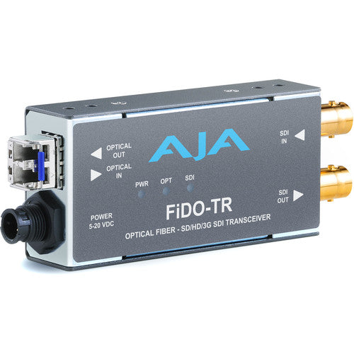 AJA Single Channel Optical Fiber to 3G-SDI with Dual 3G-SDI outputs