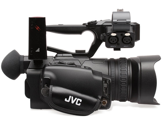 JVC GY-HM200ESB Compact Sports Production Camcorder