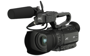 JVC GY-HM250ESB Compact Sports Production Camcorder