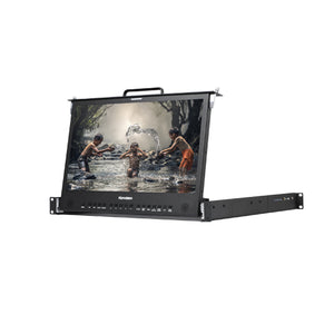 Konvision KFM-1753W Pull-out 1RU Rackmount LCD monitor
