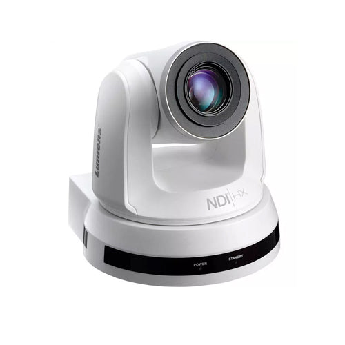 Lumens PTZ Cameras VC-A50PNW 20x Optical Zoom NDI/IP/3GSDI/HDMI PTZ Camera - White